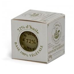 Cube de Marseille 100g - olive