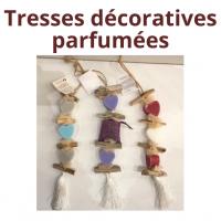 Tresses décoratives parfumées